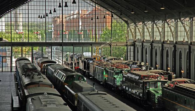 museo del ferrocarril - 10 planes con niños para este verano
