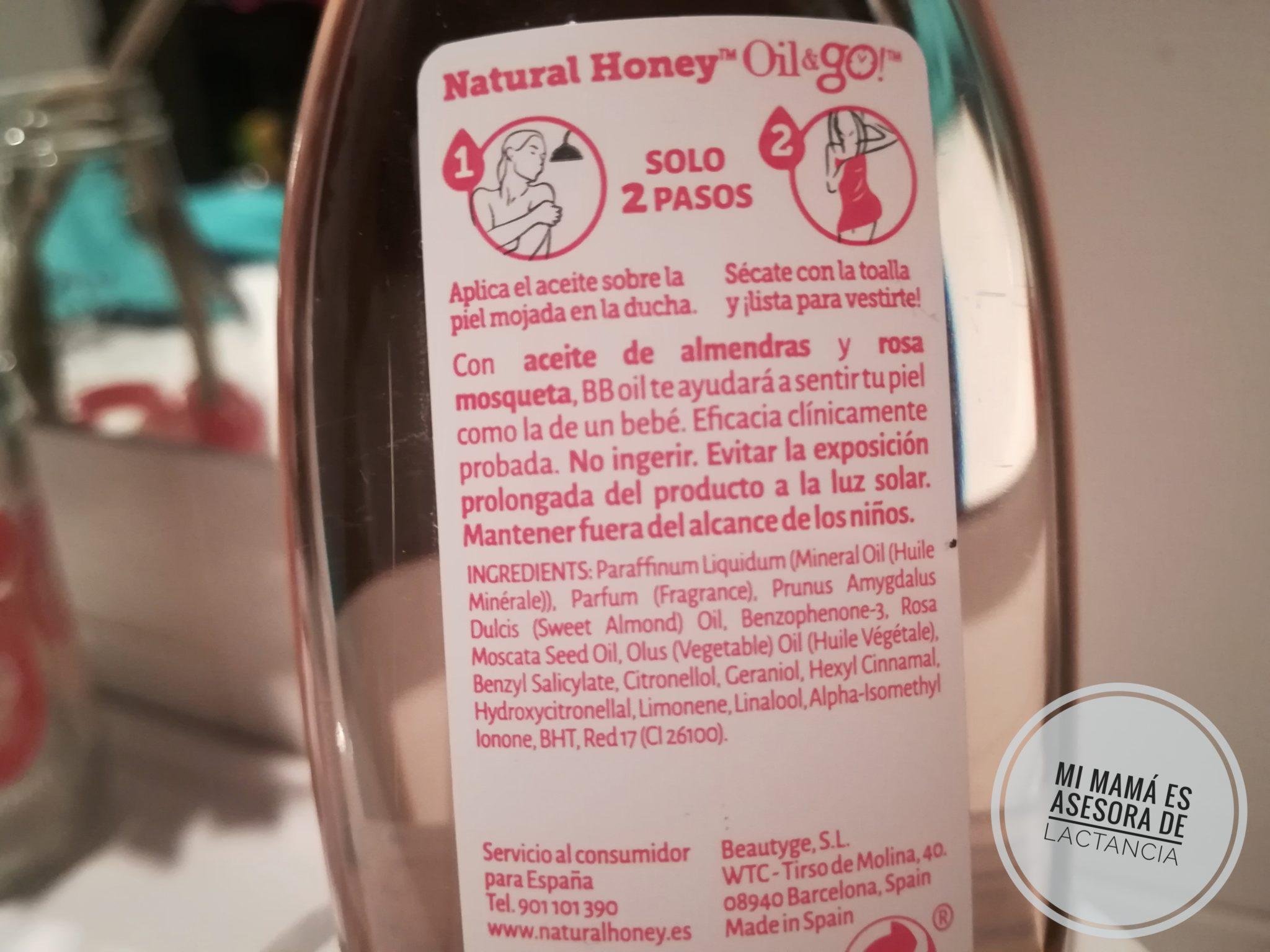 IMG 20170808 181508 01 - Probamos Oil&Go de Natural Honey
