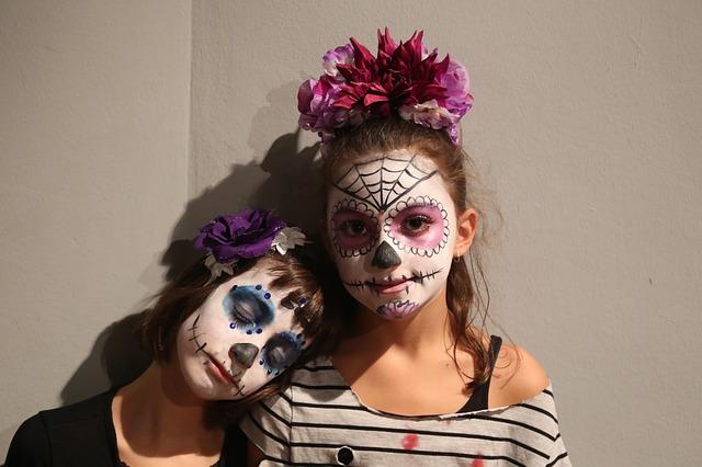 Maquillaje Halloween - Halloween con niños, 100% seguro