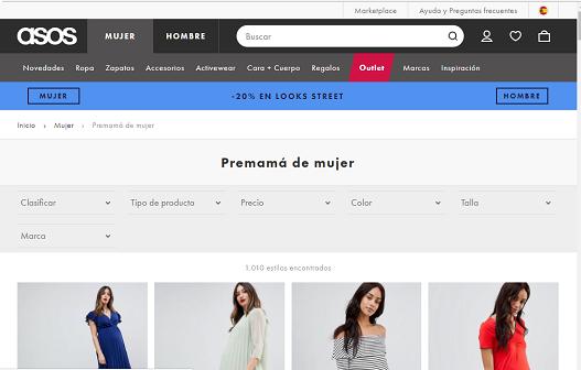 ropa de premama 5 - 6 Tiendas de ropa premamá online