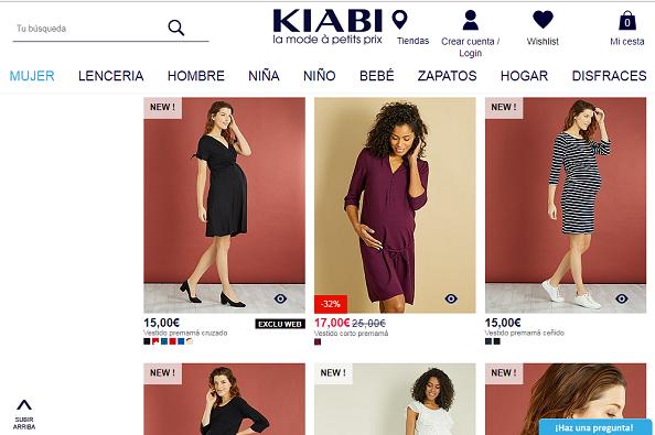 ropa de premama - 6 Tiendas de ropa premamá online