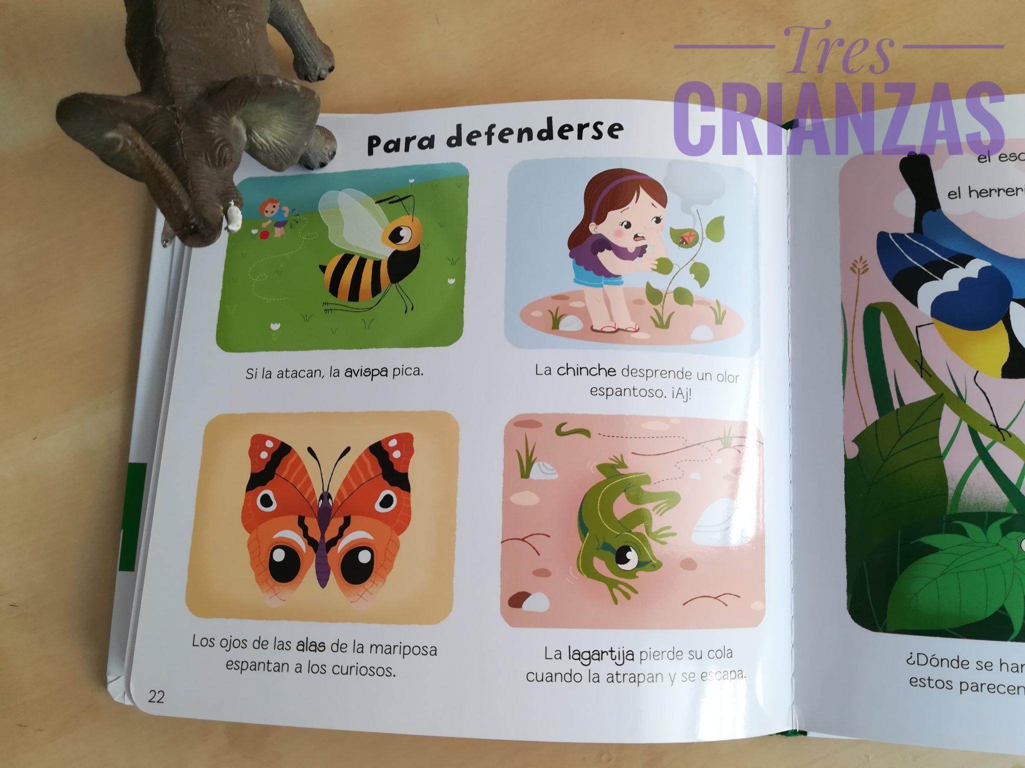 IMG 20180401 144655 01 - Cuentos para aprender bichos. Baby Enciclopedia Larousse.
