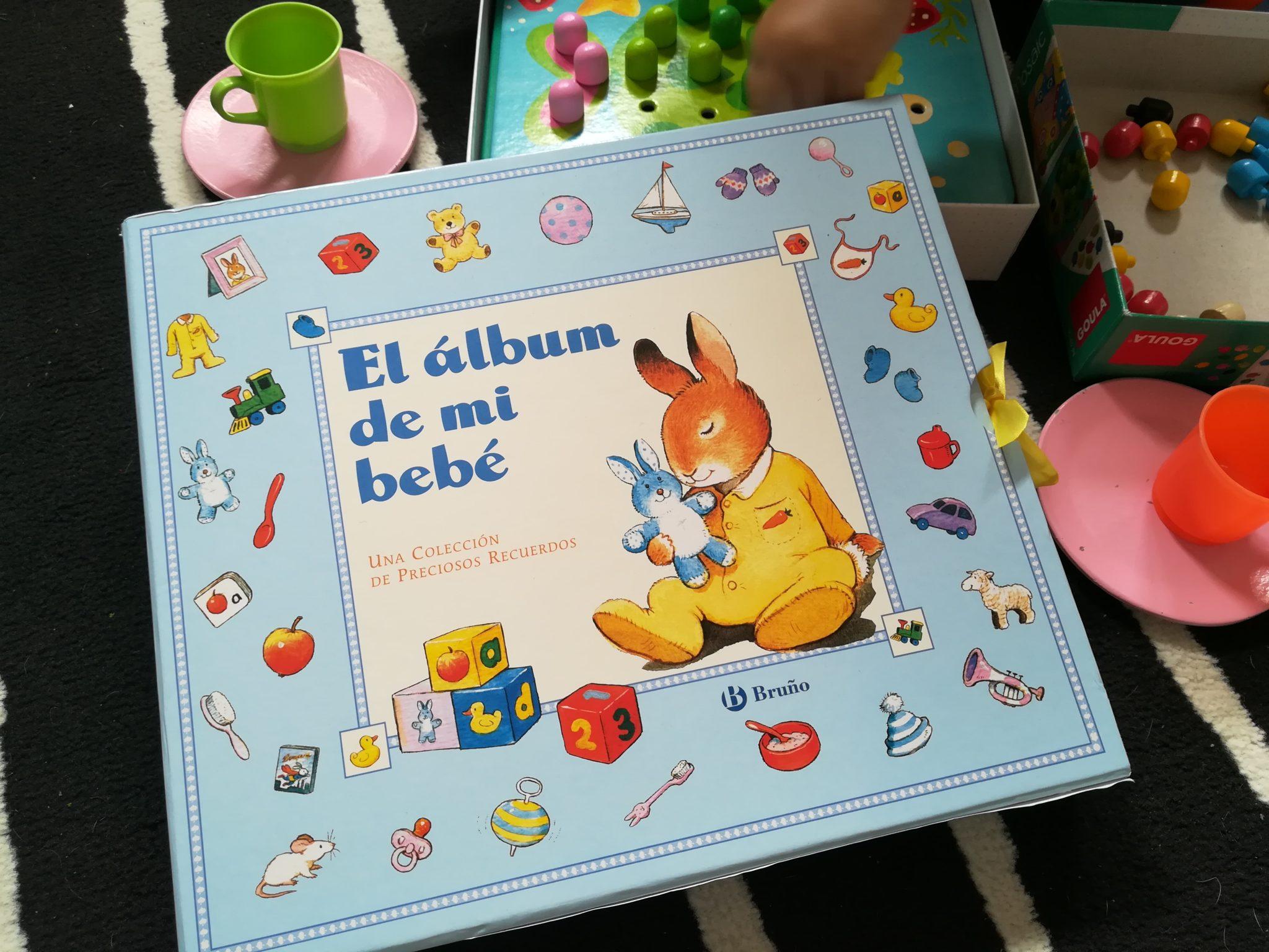 IMG 20180610 113214 - El álbum de mi bebé. También para colorear.