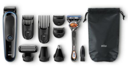 afeitadora braun - Afeitadora Braun MGK3080. 9 en 1 para toda la familia