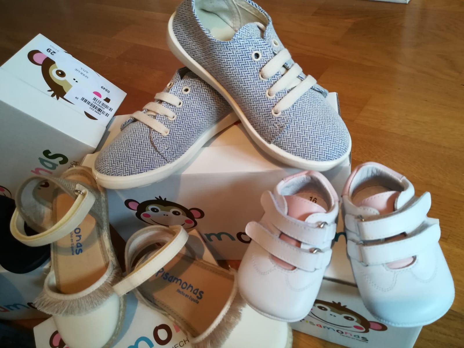 calzado infantil - Novedades en calzado infantil Pisamonas primavera-verano 2018