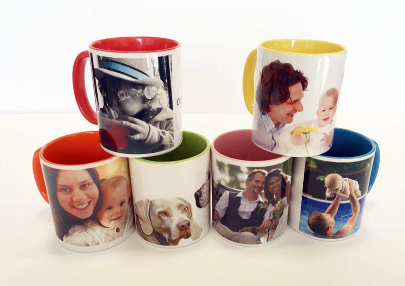 tazas personalizadas de colores - Jugando a tomar el té con taza personalizada