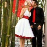 novios rockabilly 150x150 - Que las parejas de hoy en día no se casan? Tips para una boda Low Cost
