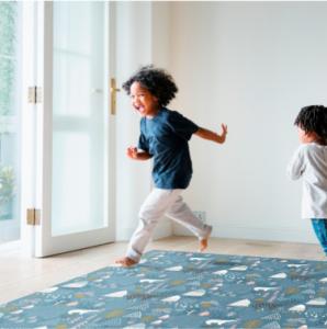 alfombras vinílicas 4 298x300 - Alfombras vinílicas para habitaciones infantiles. Motif