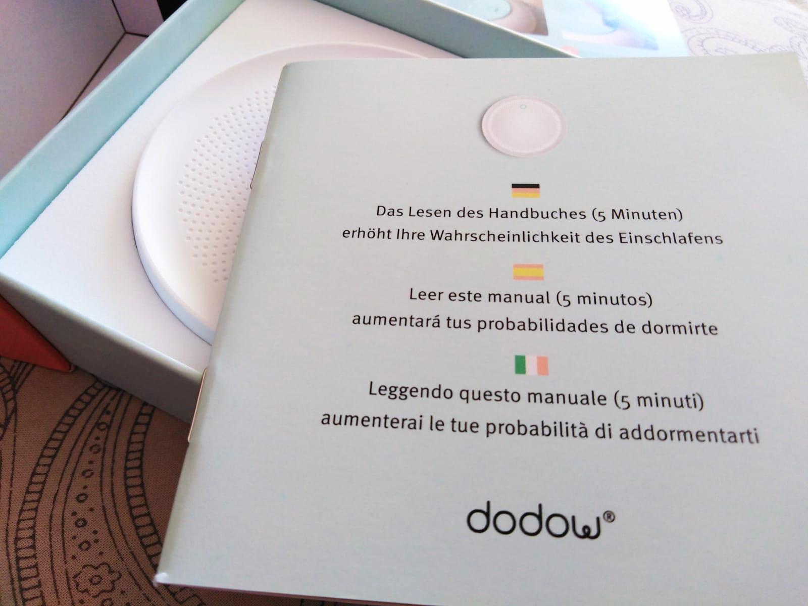 DODOWINSTR - Conciliar el sueño con Dodow