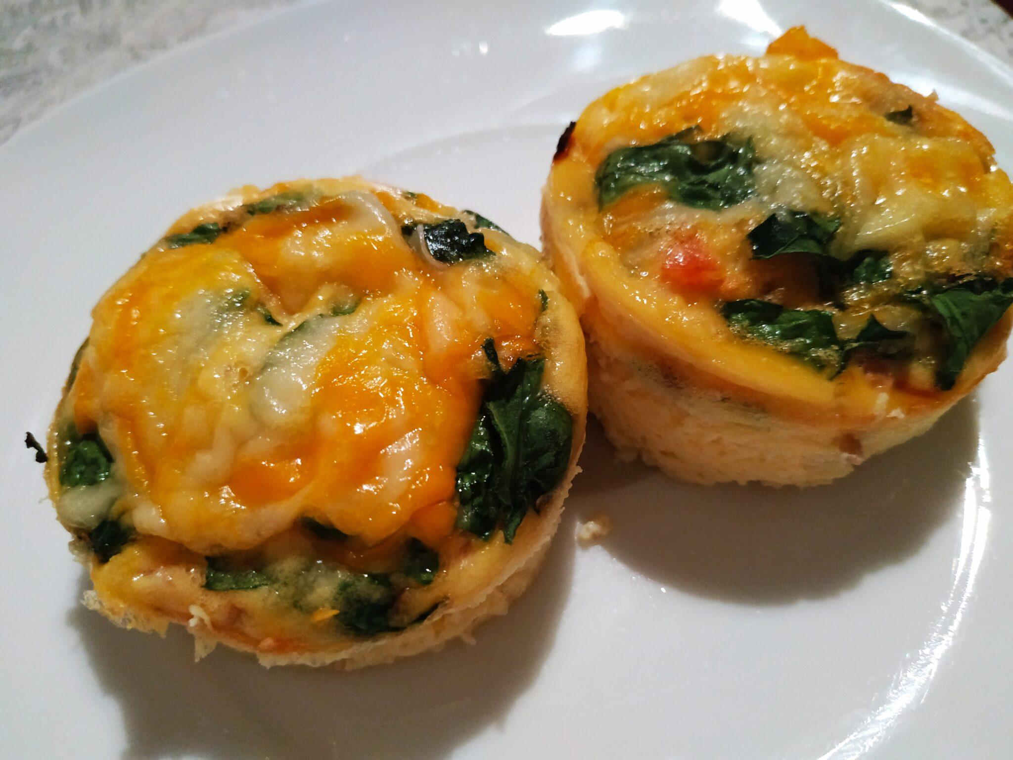IMG 20190913 230041 - Cocina con #MamaKeto: muffins de huevo con tomate y espinacas