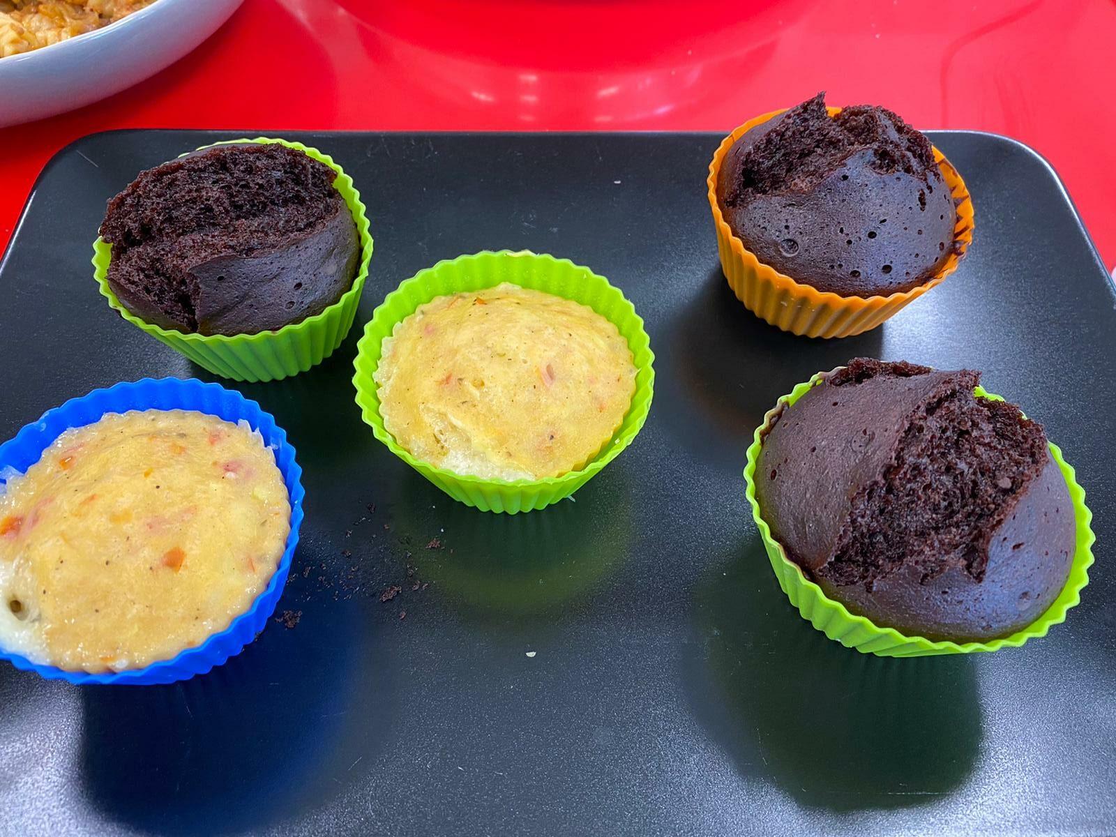 MUFFINS DULCES Y SALADOS 1 rotated - Cocina rápida y sana para toda la familia con AMC