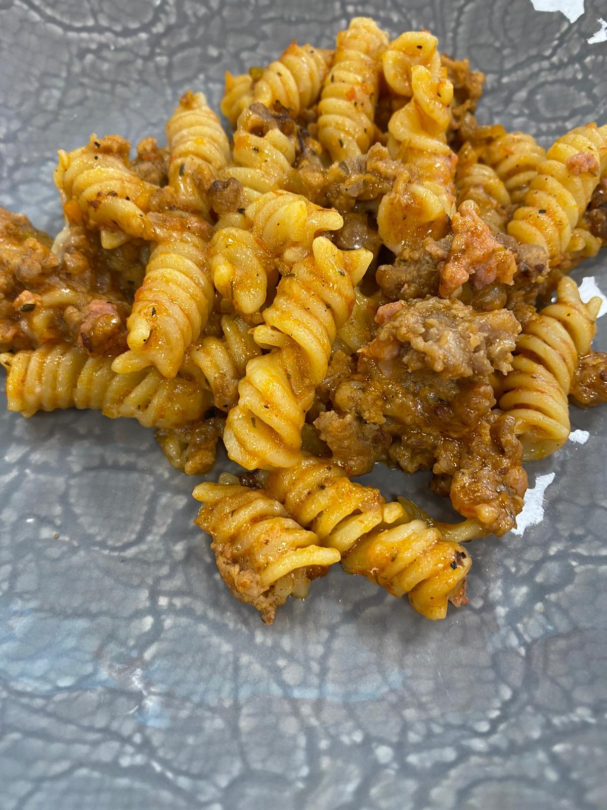 PASTA AL RAGÚ 1 - Cocina rápida y sana para toda la familia con AMC