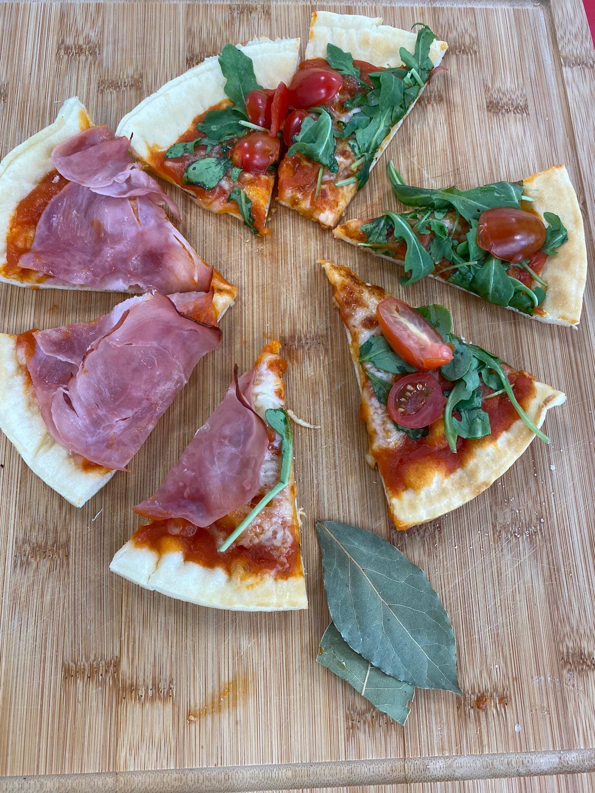 RECETA AMC PIZZA - Cocina rápida y sana para toda la familia con AMC