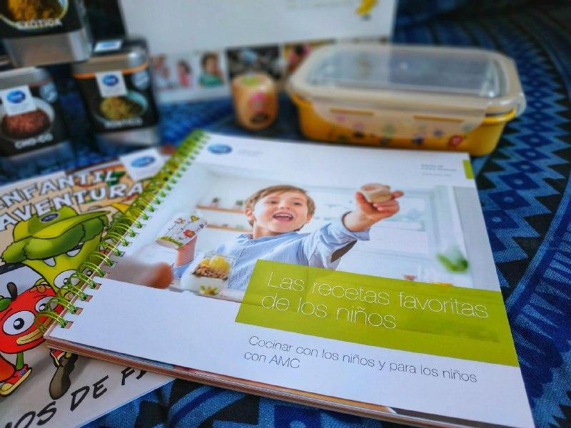 amgniños 1 - Cocina rápida y sana para toda la familia con AMC