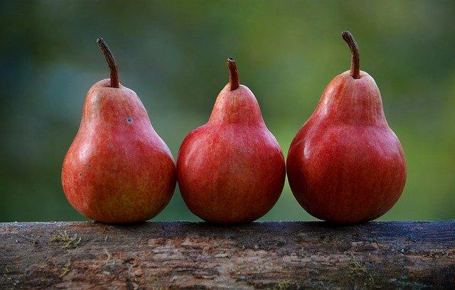 pears 1209915 640 - Cómo eliminar grasa en muslos y glúteos