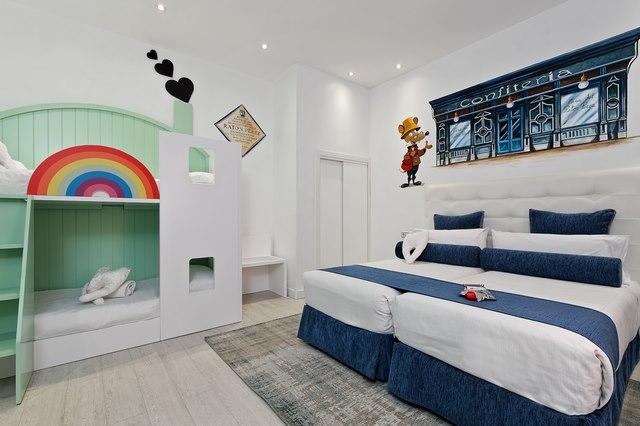 Hab 7 La del Ratoncito P®rez Copiar - Dormir en Madrid con niños